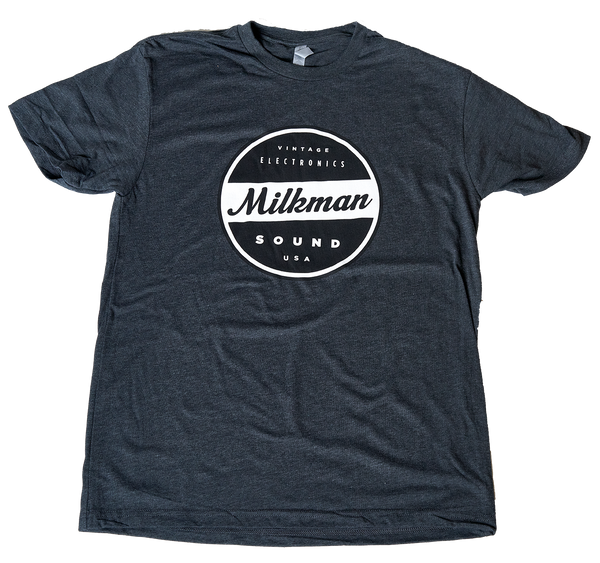 Charcoal Milkman T Shirt