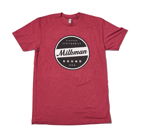Red Milkman T Shirt
