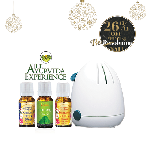 Aroma Oil Pack and The Ayurveda Experience