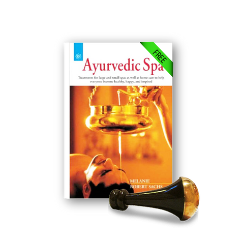 Kansa Face and Body Wand + FREE Ayurvedic Spa Book