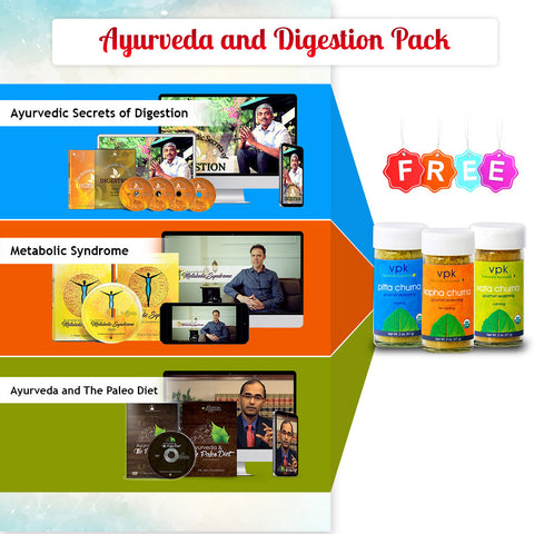 Ayurveda and Digestion Pack
