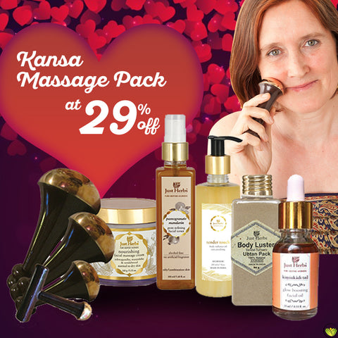 Kansa Massage Pack
