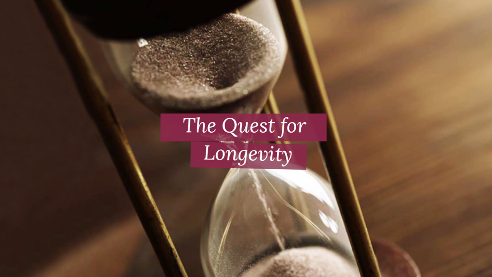 Secrets for Longivity Revealed!