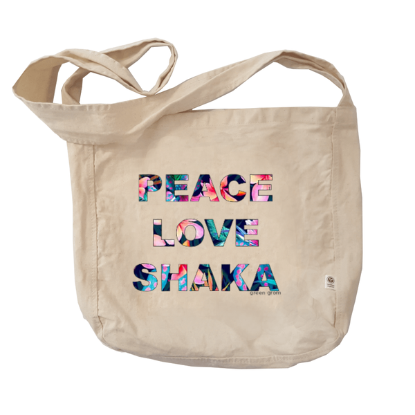 Peace Love Shaka Tote Bag