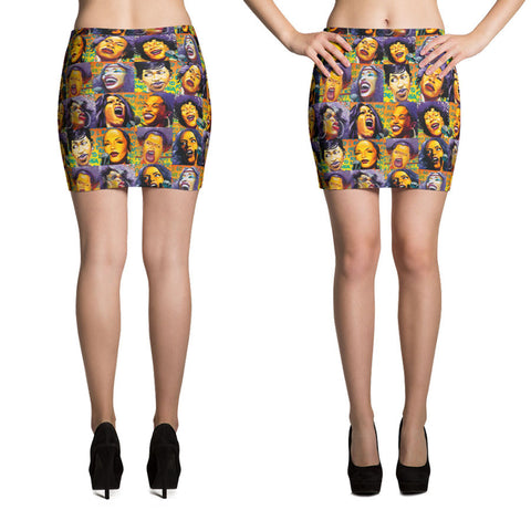 After Midnight Soul Mini Skirt