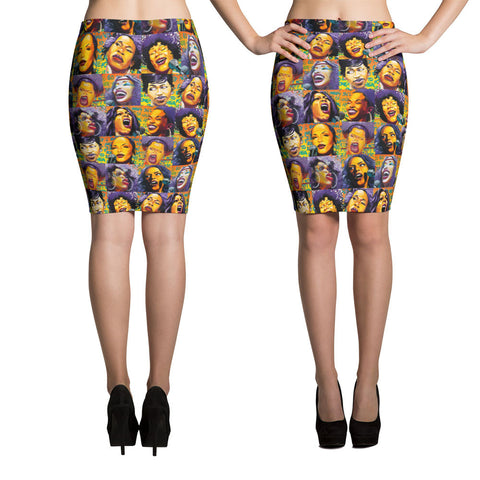 After Midnight Soul Pencil Skirt