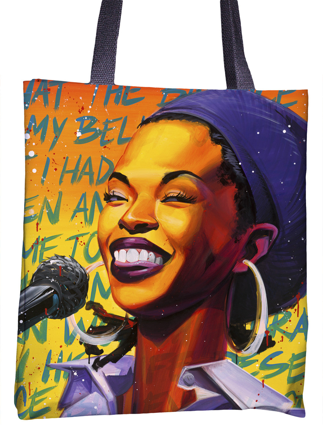Lauryn Hill Tote Bag