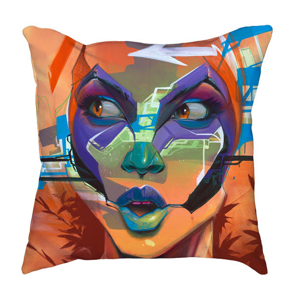 Attention Throw Pillow
