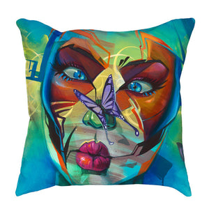 Surprised Throw Pillow