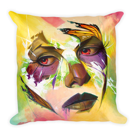 """Broken Wing"" Pillow"