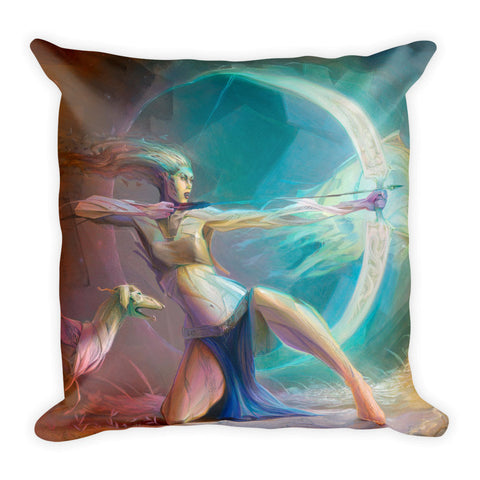 """Artemis Conquest"" Pillow"
