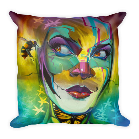 """B-Girl"" Pillow"