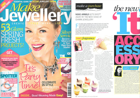 Tiny Hands featured in Make Jewellery magazine. Download Tiny Hands press media kit here