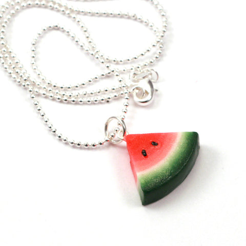 Scented watermelon necklace