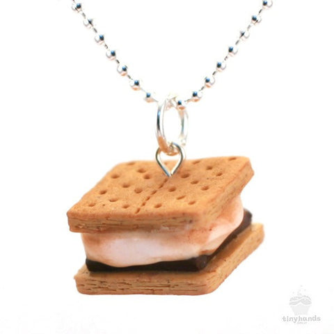 Scented Smores Necklace - Tiny Hands  - 1