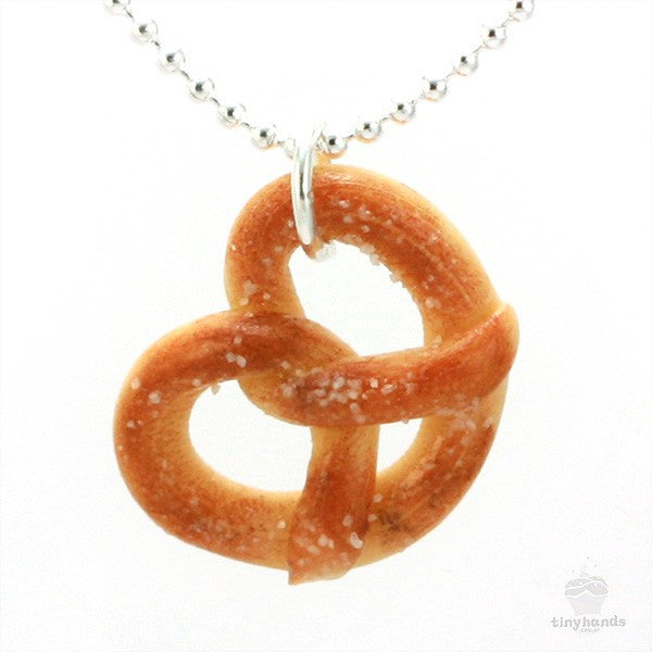 Scented Pretzel Necklace - Tiny Hands  - 1