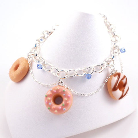 Scented Donuts Bracelet - Tiny Hands  - 1
