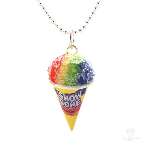 Scented Snow Cone Necklace - Tiny Hands  - 1