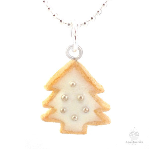 Scented Christmas Cookie Charm Necklace - Tiny Hands  - 1