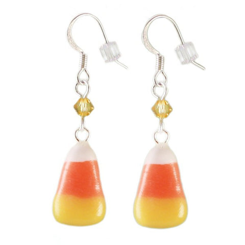 Scented Candy Corn Earrings - Tiny Hands  - 1