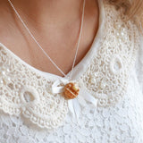 Scented Butter & Maple Syrup Waffle Necklace - Tiny Hands  - 3
