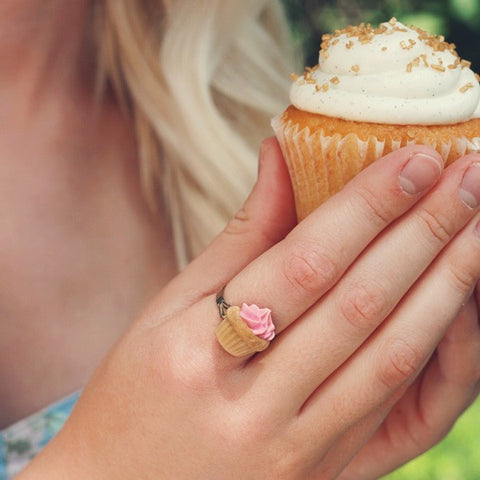 Scented Birthday Cupcake Ring - Tiny Hands  - 2