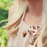 Scented Blueberry Pie Necklace - Tiny Hands  - 2