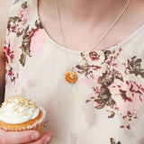 Scented Butter & Maple Syrup Waffle Necklace - Tiny Hands  - 4