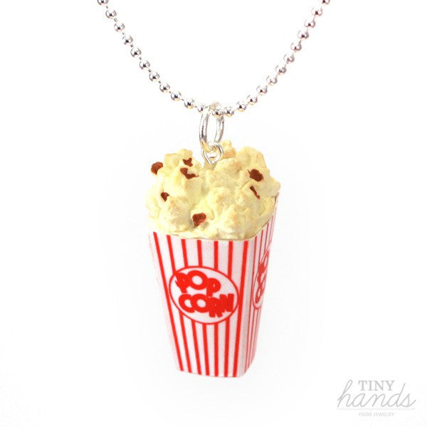 Scented Popcorn Necklace - Tiny Hands  - 5