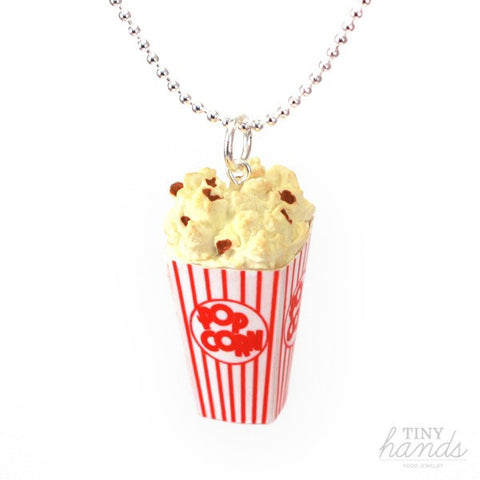 Scented Popcorn Necklace - Tiny Hands  - 1