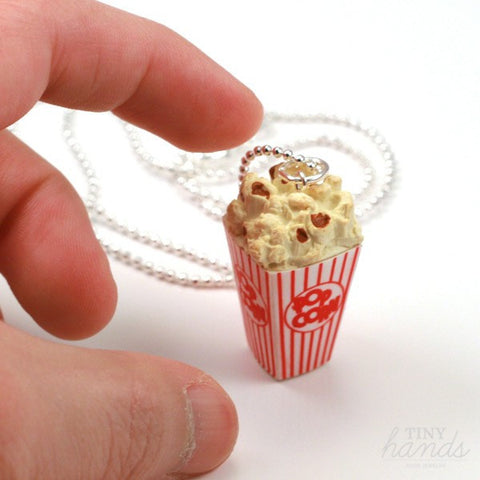 Scented Popcorn Necklace - Tiny Hands  - 2