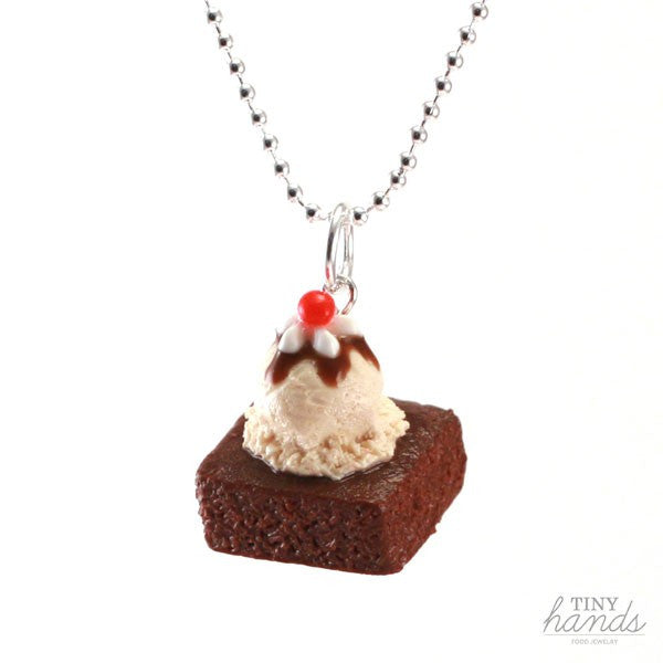 Scented Brownie Sundae Necklace - Tiny Hands  - 1