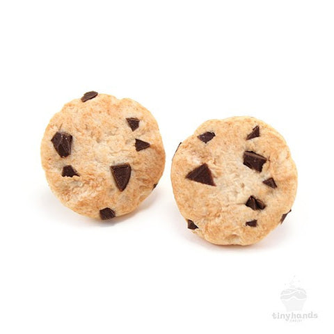 Scented Chocolate Chip Cookie Earstuds - Tiny Hands  - 1