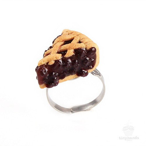 Scented Blueberry Pie Ring - Tiny Hands  - 5