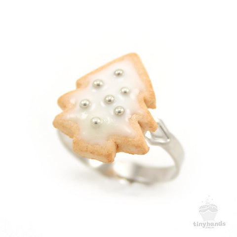 Scented Christmas Cookie Ring - Tiny Hands  - 1