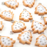 Scented Christmas Cookie Charm Necklace - Tiny Hands  - 4