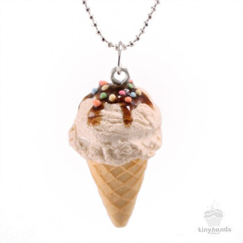 Scented Vanilla Ice-Cream Necklace - Tiny Hands  - 1