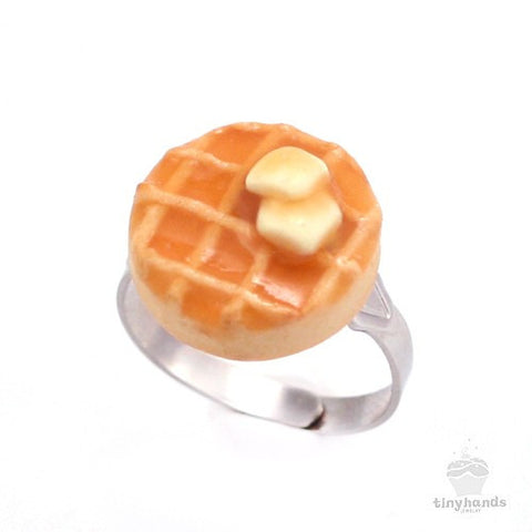Scented Butter & Maple Syrup Waffle Ring - Tiny Hands  - 1