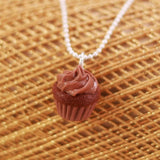 Scented Chocolate Cupcake Necklace - Tiny Hands  - 4