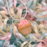 Scented Birthday Cupcake Necklace - Tiny Hands  - 4