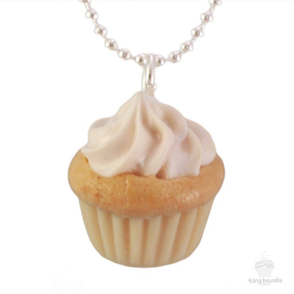 Scented Vanilla Cupcake Necklace - Tiny Hands  - 1