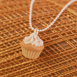 Scented Vanilla Cupcake Necklace - Tiny Hands  - 4