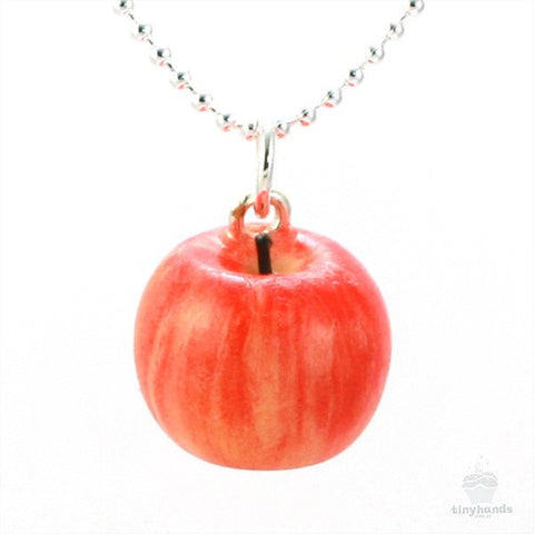 Scented Apple Necklace - Tiny Hands  - 1