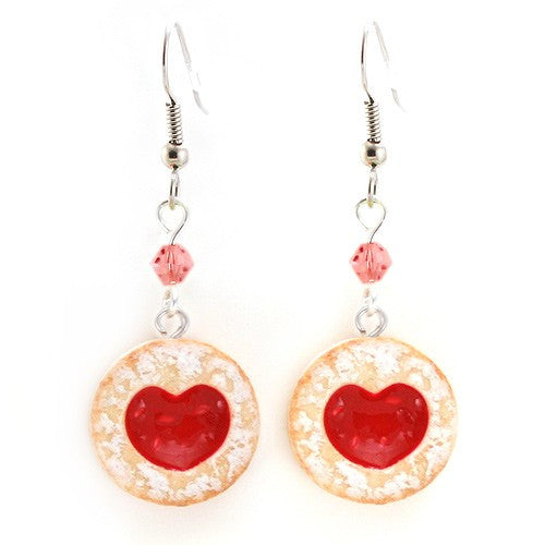 Scented Shortcake Heart Cookie Earrings - Tiny Hands  - 4