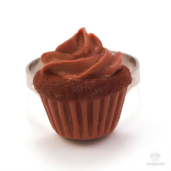Scented Chocolate Cupcake Ring - Tiny Hands  - 6