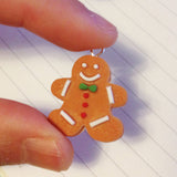 Scented Gingerbreadman Cookie Necklace - Tiny Hands  - 2