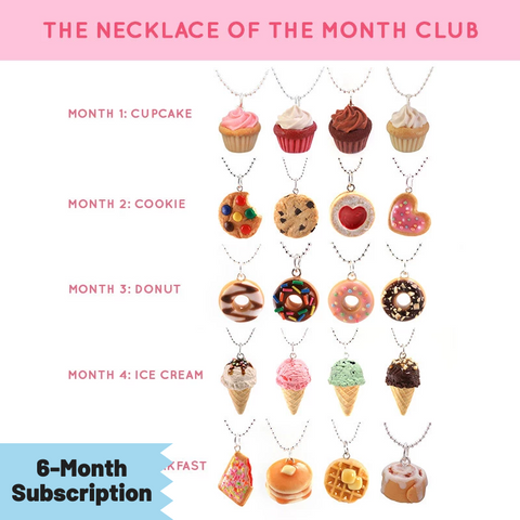 Necklace Of The Month Club - 6 Month Subscription