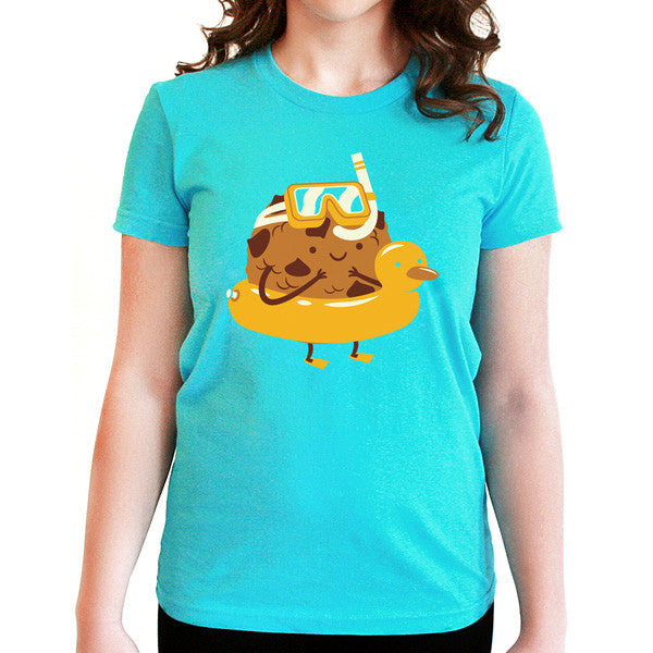 Chocolate Chip Cookie Dunk T-Shirt - Tiny Hands  - 1