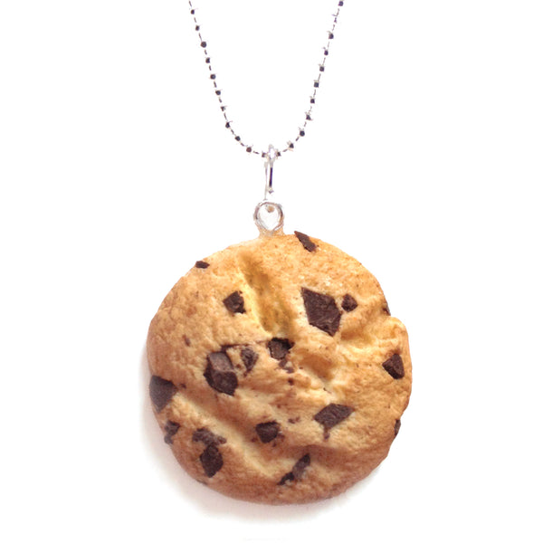 (Wholesale) Scented Chocolate Chip Cookie Necklace
