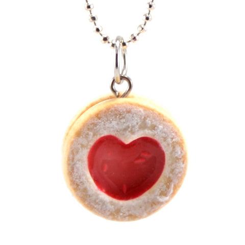 Scented Shortcake Heart Cookie Necklace ($18.00)